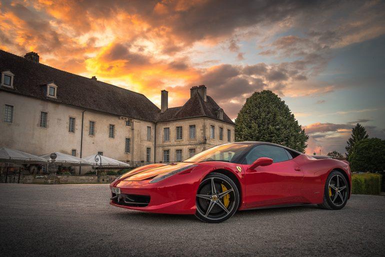 Red Car - Luxury Car
