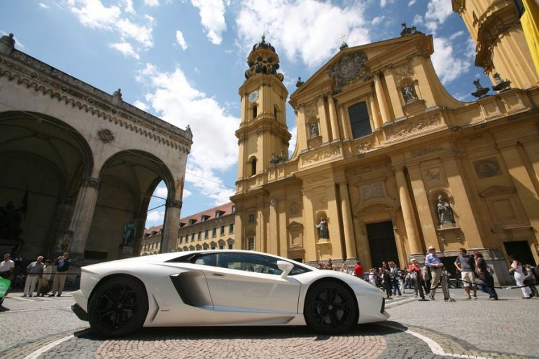Luxury car in Germany